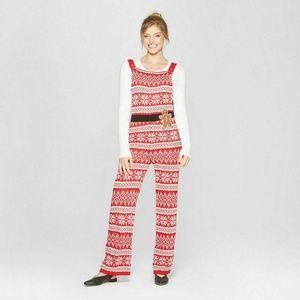 NEW Born Famous Santa Knit Jumpsuit Christmas